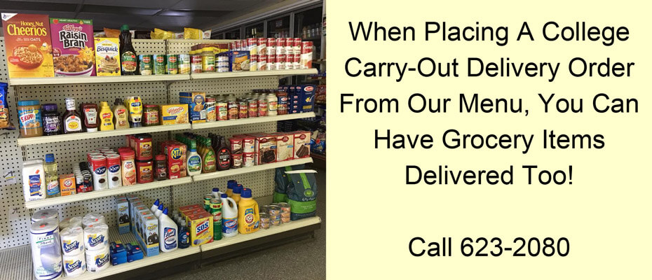 When you order Carry Out, get Groceries Delivered as well!